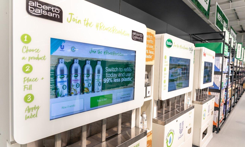 Unilever liquid dispensing machines